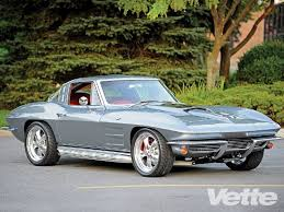 how many 63 split window corvettes were made 1963 chevrolet corvette ls7 powered split window restomod