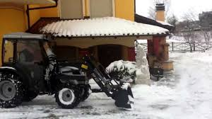 vintage lamborghini tractor tractor lamborghini r1 55 in the snow youtube