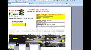 traffic light camera ticket beating traffic light camera tickets why it works youtube