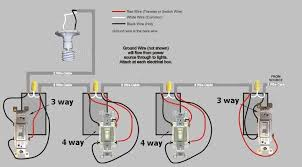 4 way electrical switch hook up