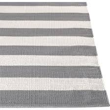 White And Gray Rugs Olin Grey Striped Cotton Dhurrie Rug Grey Rugs Gray And Living