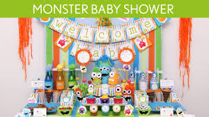 monsters inc baby shower decorations baby shower party ideas s19