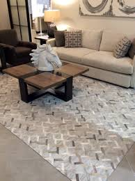 new from bassett furniture is the hide rug from the allure