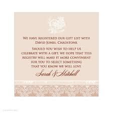 wedding registry templates registry information on wedding invitations invitation templates