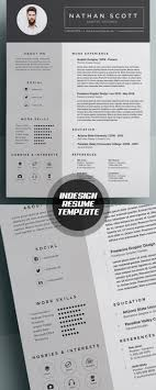 design resume templates 50 best resume templates for 2018 design graphic design junction