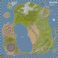 07 World Map by Looking For Dereth Map Without The Grid Asheronscall