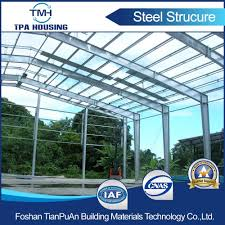 china low cost prefabricated steel structural construction