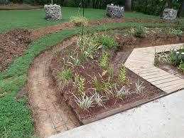build a freestanding garden wall art of stone gardening