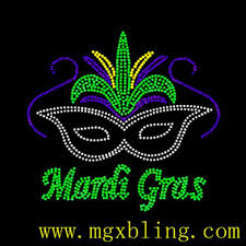 mardi gras material fashion motif mardi gras rhinestone changsha mgx accessories co ltd