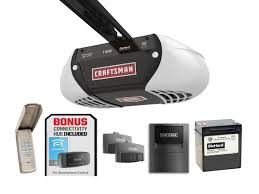 Overhead Door Reviews by Craftsman 1 Hps Belt Drive Garage Door Opener With Gateway