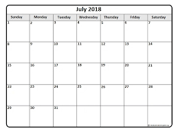 printable calendar 2015 for july july 2018 calendar 51 calendar templates of 2018 calendars