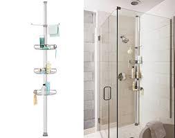 Bathroom Shower Storage Tension Shower Caddy Contractors Pinterest Storage Bathroom