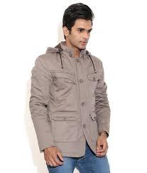 la scoot pista colour cotton fabric casual wear coat buy la