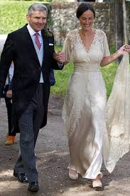 michael middleton kate middleton s gallant father michael gives the bride away for a