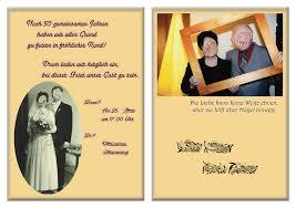 einladungskarten goldene hochzeit mit foto goldene hochzeit 1 christoph schirra it design
