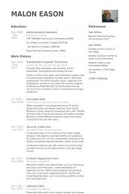 Central Service Technician Resume Sample by Handyman Resume Samples Visualcv Resume Samples Database