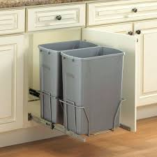 kitchen trash can storage trash cans kitchen island with trash can