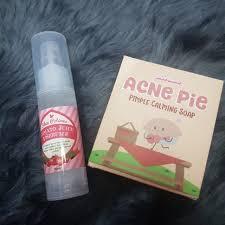 Serum Lbc skin potions bundle tomato serum acne pie soap preloved health