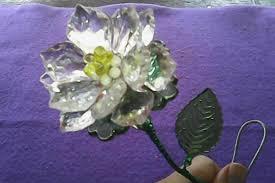 cara membuat kerajinan akrilik diy flower membuat bunga bertangkai dari manik manik make interest