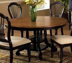 bedroom personable hillsdale wilshire round oval dining table