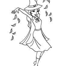 scary witch face coloring pages hellokids com