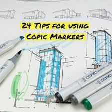 24 tips for using copic markers art inspiration inspiration