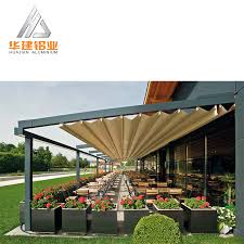 Pergola Gazebo With Adjustable Canopy by Modern Pergola Modern Pergola Suppliers And Manufacturers At