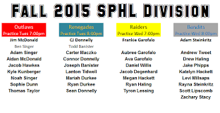 Todd Banister Fall 2015 Division Rosters U2014 Chill Hockey