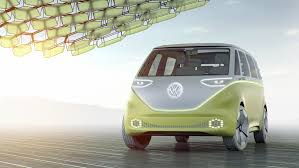 volkswagen microbus 2017 volkswagen unveils self driving electric vw microbus