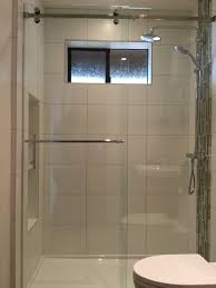 Frameless Glass Shower Door Kits by Serenity Series Frameless Sliding Shower Enclosure 3 8