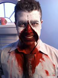 Halloween Makeup Man Halloween Zipper Faroeislandsphoto