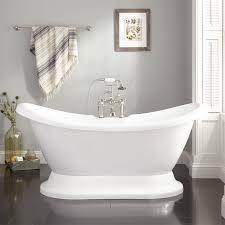 Image Of Bathtub Rosalind Acrylic Pedestal Tub Bathroom