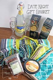 date gift basket date picnic basket gift diy home decor and crafts