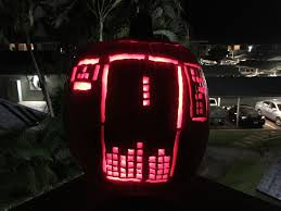 led pumpkin tea lights how to carve a tetris pumpkin tetris