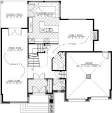 modern style house plan 3 beds 2 50 baths 2410 sq ft plan 138 357