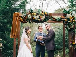 wedding ceremony arch rustic wood wedding ceremony arch pittsburgh penn rustics rentals