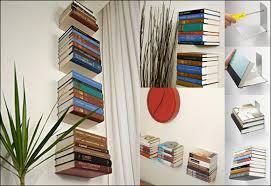 Invisible Bookshelf Diy The Invisible Bookshelf Www Teebooks Com Amazon Umbra Conceal