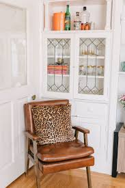 Leopard Chairs Living Room Animal Print Accent Chairs Faux Cowhide Chair Brown Zebra Chair
