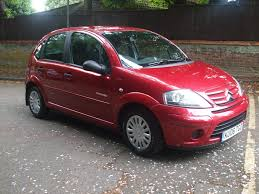 used citroen c3 desire red cars for sale motors co uk