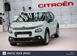 new citroen belgrade serbia march 23 2017 new citroen c3 presented at