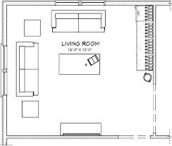 living room floor plans interior design