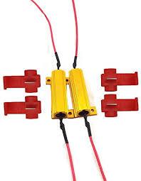 amazon com 50w 6ohm led load resistors for led turn signal lights