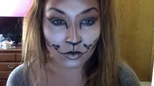 Glamorous Halloween Makeup Glamorous Halloween Makeup Kitty Cat Easy Youtube