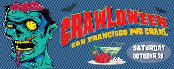 crawloween san francisco halloween pub crawl san francisco pub