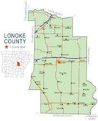Counties Of England Map by Lonoke County Map Encyclopedia Of Arkansas