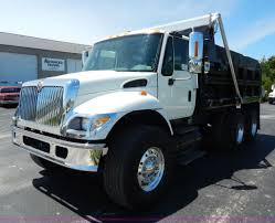 2004 international 7400 dump truck item g3225 sold june