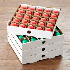 Christmas Ornament Storage Drawers by Corrugated Ornament Storage Trays The Container Store