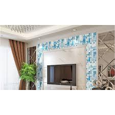 aluminum backsplash kitchen deluxe glass metal mosaic sheets brushed aluminum backsplash glass
