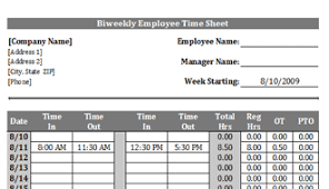 biweekly timesheet template archives timesheet template free