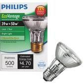 Par20 Halogen Flood Lights Philips Ecovantage Par20 Halogen Floodlight Light Bulb 455030